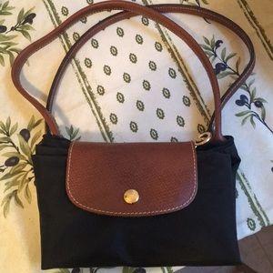 Longchamp Le Pliage Black Small Bag